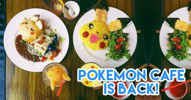 Pokemon Cafe Singapore