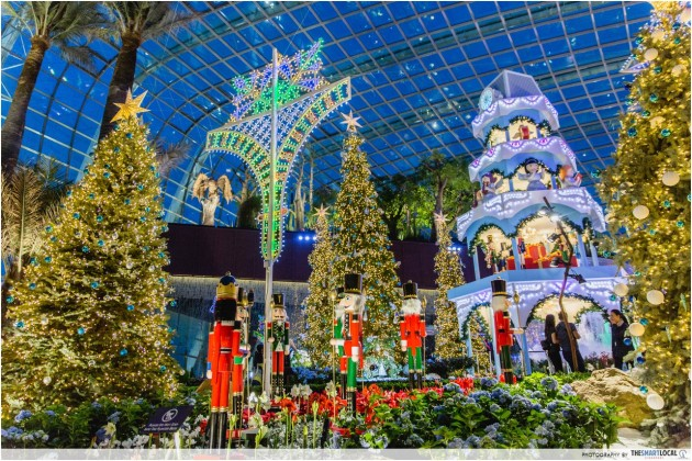 Fun Things to Do in December 2016 - Pikachu Parades, Giant Bouncy Castle, Christmas Flower Dome