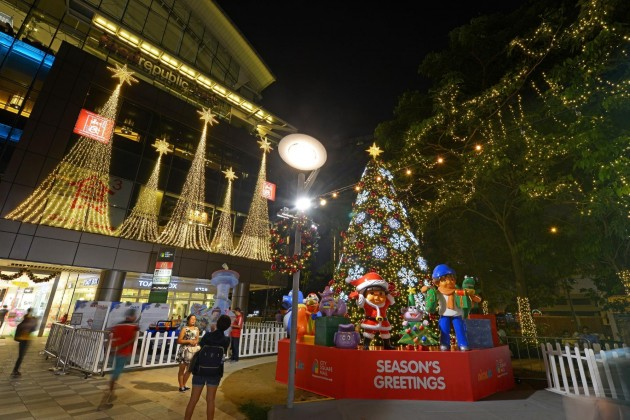 city square mall christmas singapore