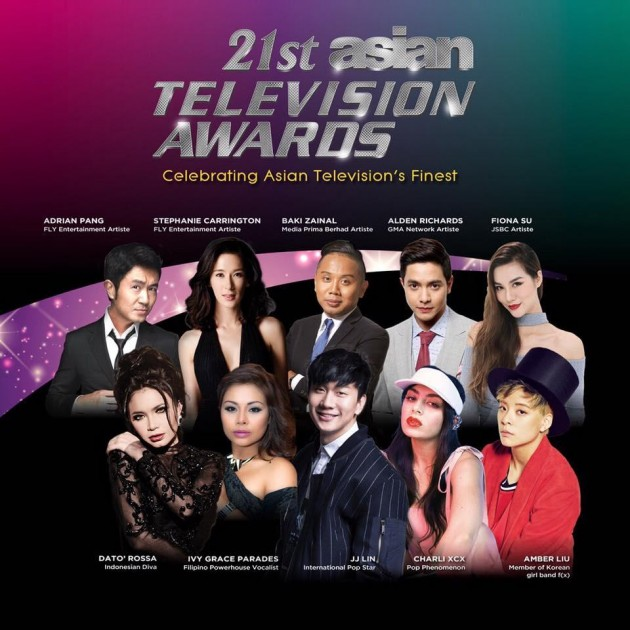 Asian Television Awards with performances by JJ Lin and Charli XCX at Singapore Media Festival