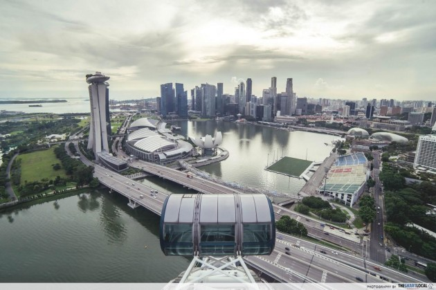 Festive Sky Dining at Singapore Flyer