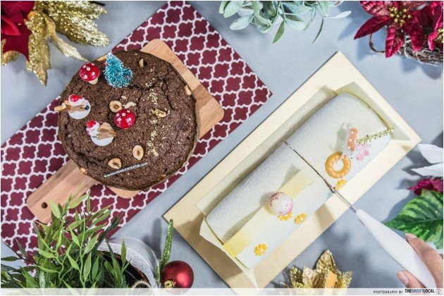 Carlton Hotel's New Hazelnut And Lychee Christmas Cakes Will Complete Your Christmas Party