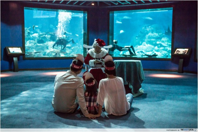 Merry Fishmas At S E A  Aquarium: Relive Your Childhood With