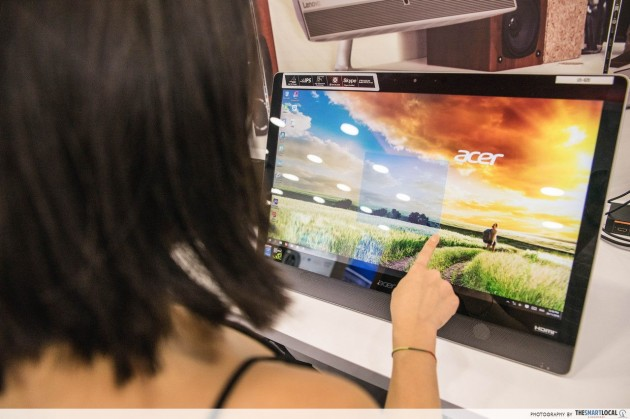 Acer T232HL Touchscreen