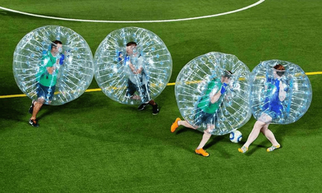 Singexperience, bubble soccer kids party