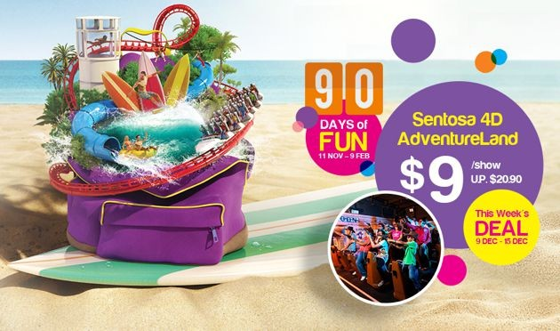 Sentosa 90 Days of Fun