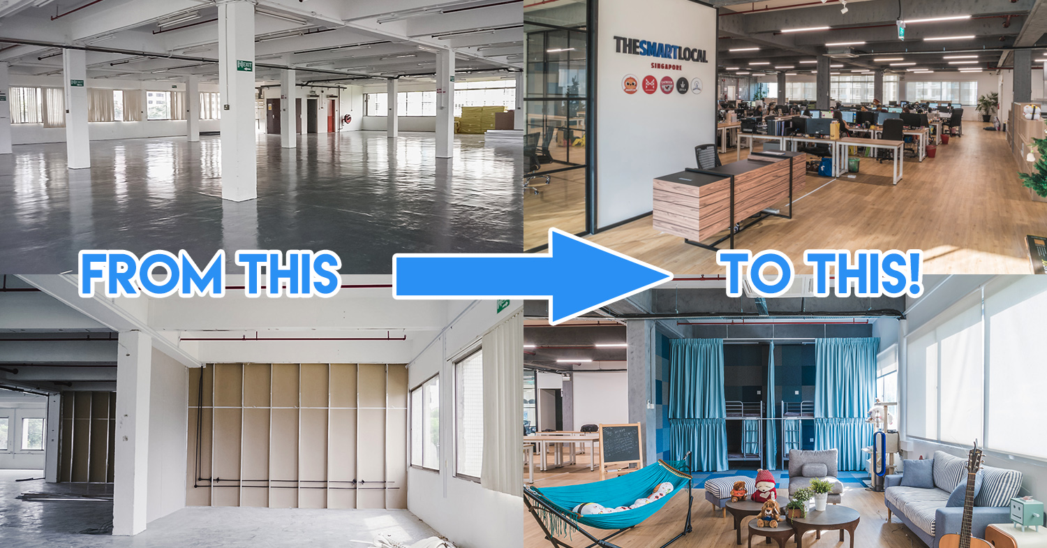 Office Renovation: TSL Turned This Rabak Industrial Unit Into A Mini-Google HQ