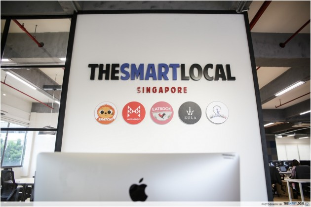 The Smart Local, Eatbook, Zula, Must Share News, Snatch