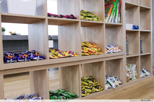 The Smart Local, snack bar and pantry
