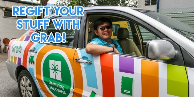 GRAB Has Activated Its Fleet To Help You Donate Gifts And Brighten A Kid's Day