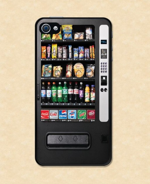 snack vending machine, phone case