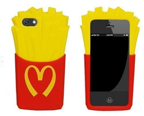 mcdonalds french fry, phone case