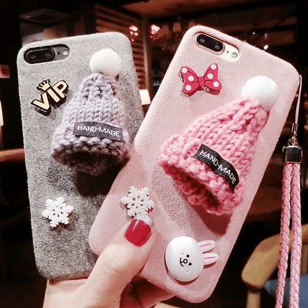 christmas hat phone case, taobao