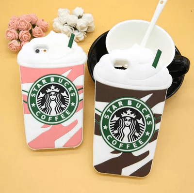 starbucks phone case, q100