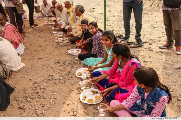Bhangarh Fort Jaipur Local Meal