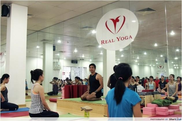 Real Yoga, free yoga trials