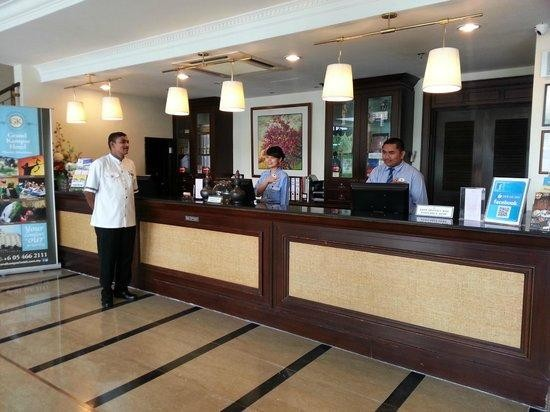 Grand Kampar Hotel, reception area, European elegance
