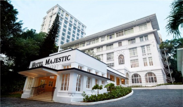 The Majestic Hotel, colonial architecture