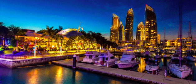 marina at keppel bay, htht place