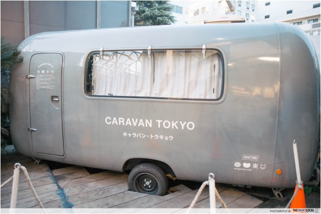 Commune 246, caravan to spend the night, Harajuku