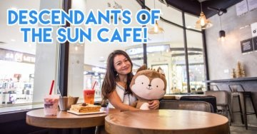 New Cafes and Restaurants In Jan 2017 - DOTS Cafe, Japan Rail Cafe & Yellow Cab Pizza