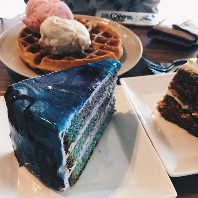 sugarhaus, galaxy cake