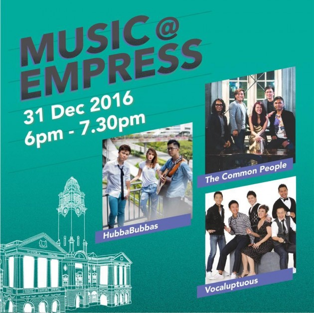 New Year's Eve Countdown 2016 Music @ Empress free movie screenings