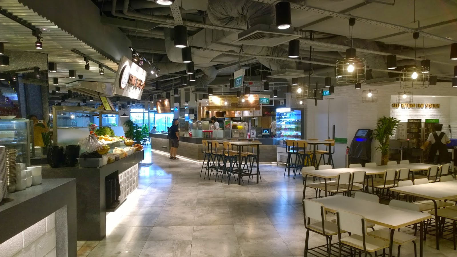 NTUC Foodfare interior
