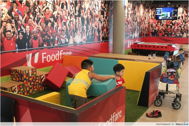 Kallang Wave Mall Foosball Table