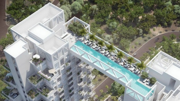 11 Condo Swimming Pools That Might Just Have Been The