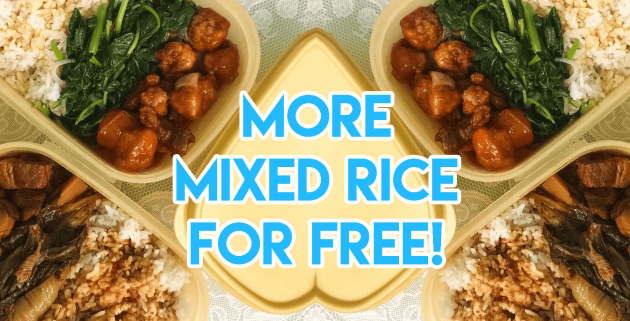 Singapore Unofficial Lifehacks, Mixed Rice