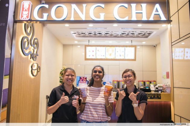 gong cha - healthier alternative