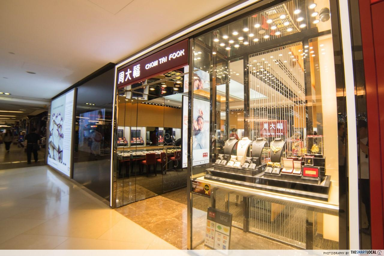 Chow Tai Fook Singapore Orchard ION