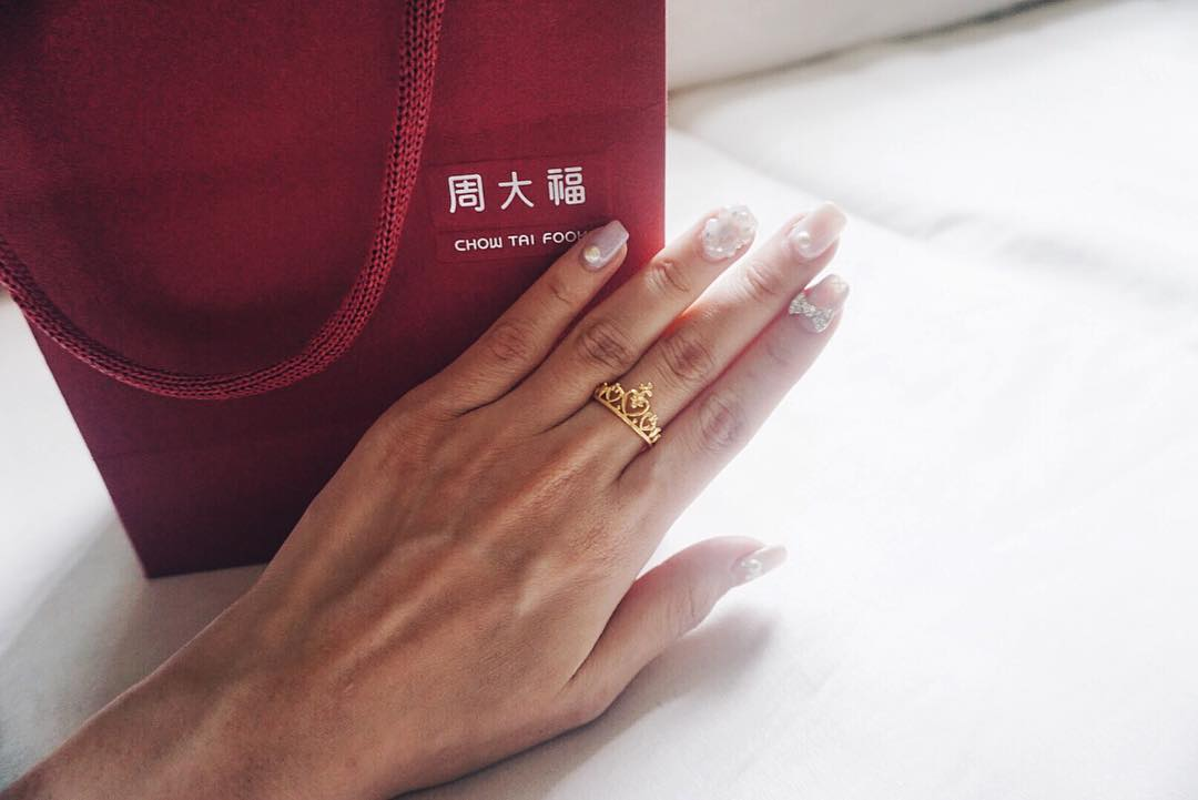 Princess Crown Ring Chow Tai Fook