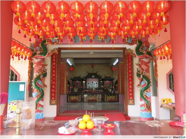 Tiong Ghee Temple, Queenstown, Boh Beh Kang Village