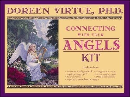 Connecting with your Angels kit at Spellbound Witchcraft store Singapore