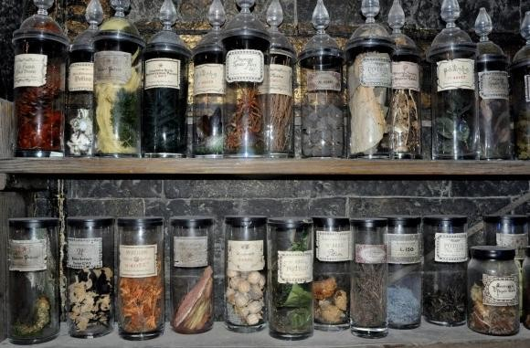 Spellcasting herbs at Spellbound Witchcraft store Singapore