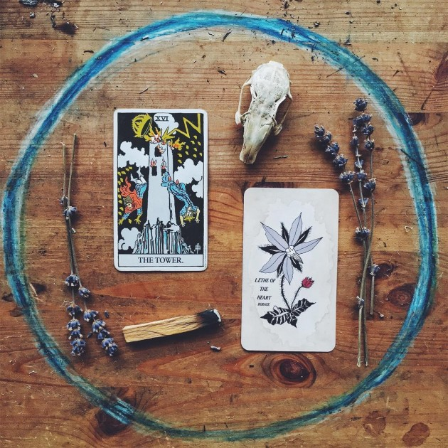 Tarot card readings and spellcrafting services at Spellbound Witchcraft store Singapore