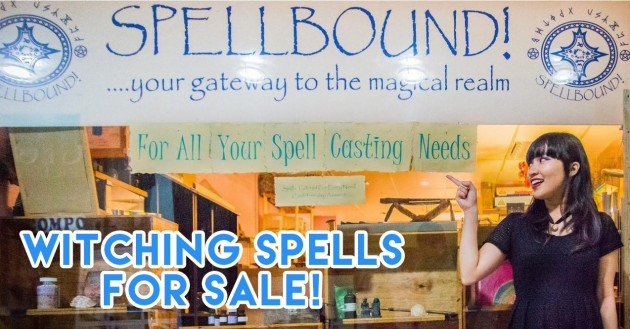 Spellbound - We Found Singapore's Last Witchcraft Store At Peninsula-Excelsior