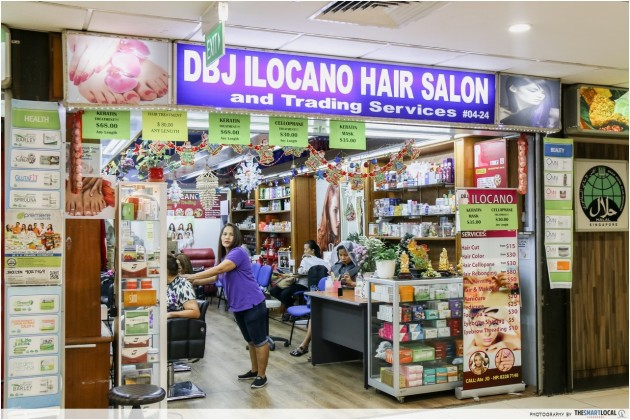 hair salon lucky plaza singapore