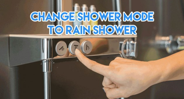 hansgrohe rain shower buttons