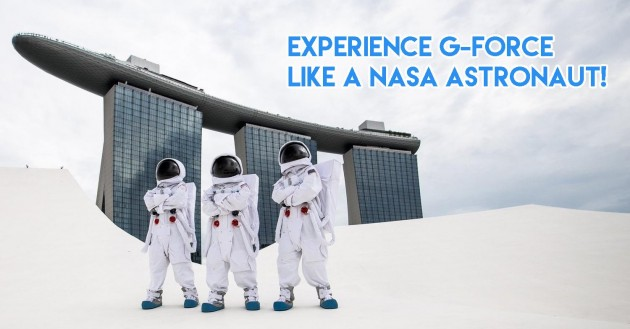 Experience 2G forces like a NASA Astronaut