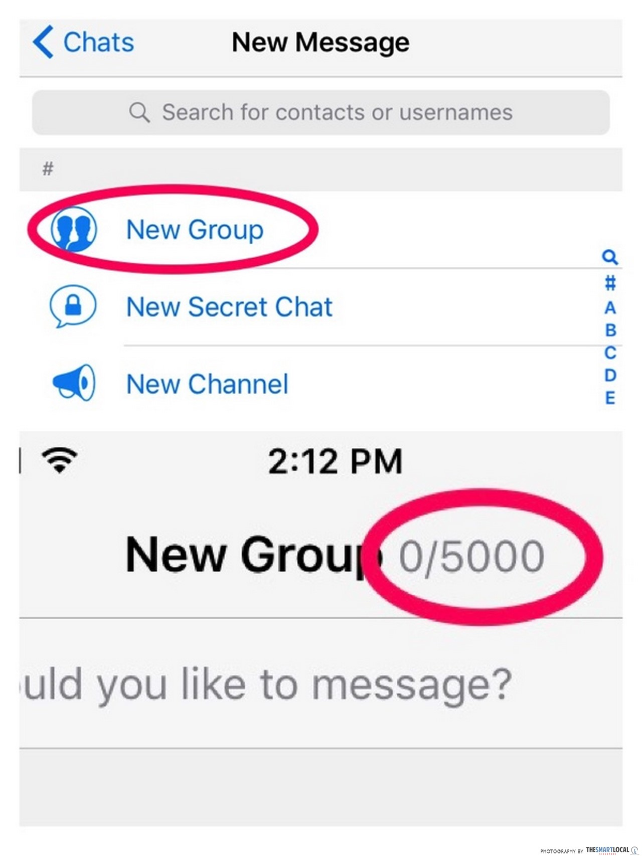 inappropriate group chat names