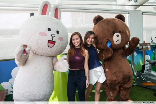 Samsung x LINE FRIENDS Pop-Up Store, Westgate