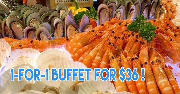 1 for 1 buffet at Fern Tree Cafe