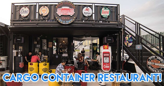 7 New Cargo Container Bistros Have Sprung Up At Punggol-Serangoon Reservoir