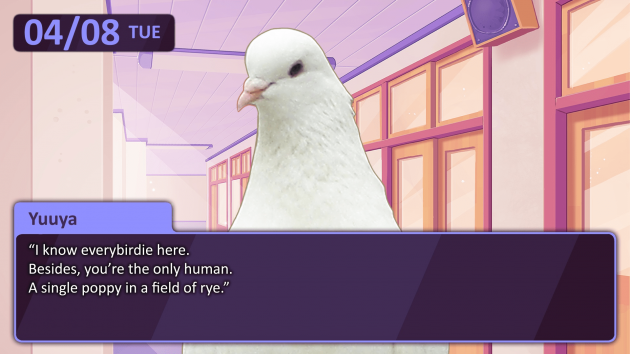 Hatoful Boyfriend Weird Dating Game Pigeon Japanese