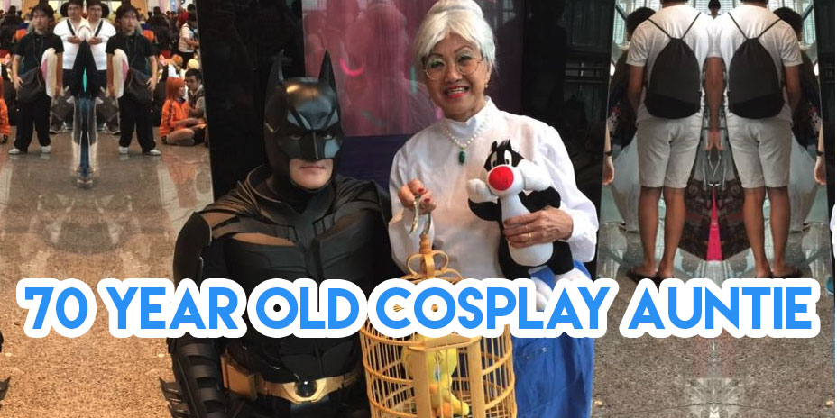70 year old cosplay auntie singapore