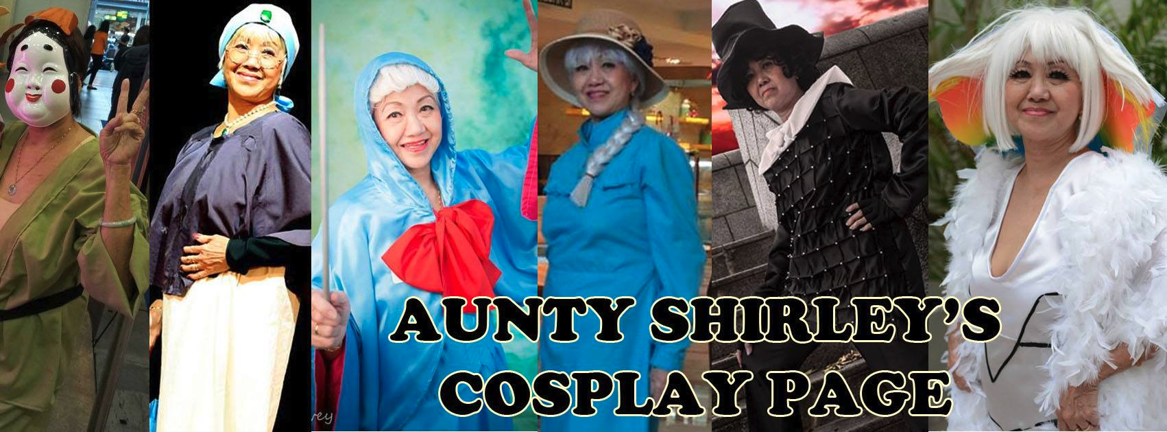aunty shirley cosplay