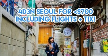 8 ALL-IN Travel Ideas From $174 Based On Ang Pow Money Collected